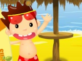 flash игра Beach Fruity Snack