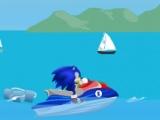 flash игра Super Sonic Ski