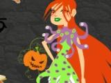 flash игра Halloween Girl