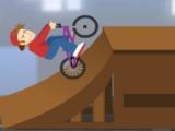Flash игра для девочек BMX Rider
