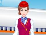 flash игра Glamorous Air Hostess