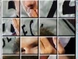 flash игра Celebrity Puzzle Beckham