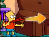 flash игра Simpsons Slingshot