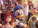 flash игра Cartoon Heroes Jigsaw