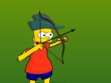 flash игра Simpson Archer