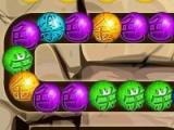 flash игра Dragon Marble Blast