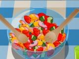 flash игра Papa salad