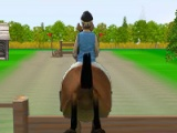 flash игра Horse Jumping 2