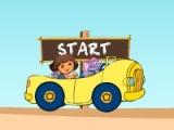 flash игра Dora Island Race