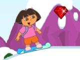 flash игра Dora Snowboard