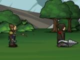 flash игра Gnome Mans Land
