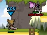 flash игра Bearbarians