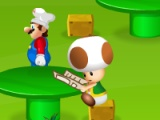 flash игра Mario restaurants