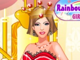flash игра Fabulous Queen Dress Up