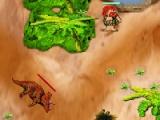flash игра Invade Dinosaurus 2