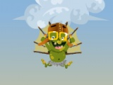 flash игра Goblin Flying Machine