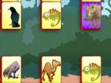 flash игра Safari Mahjong