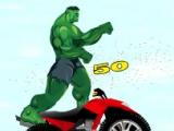 flash игра Hulk Stunts