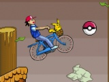 flash игра Pokemon Bike