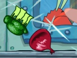 flash игра Fruit Spongebob