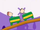flash игра Trolleez Coaster