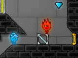flash игра Fire Boy and Water Girl 4 The