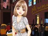 Flash игра для девочек New York Evening Fashion