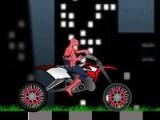 flash игра Spiderman Bike