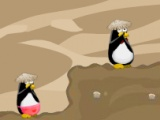 flash игра Penguin Couple Adventure