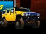flash игра 3D Hummer Racing