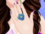 flash игра Selena Gomez Manicure