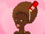 flash игра Princess Hairstyle