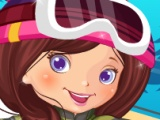 flash игра Snowboarder Girl Dress Up