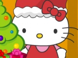 Flash игра для девочек Hello Kitty X'Mas Celebration