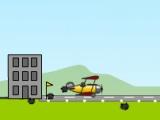 flash игра Biplane Bomber
