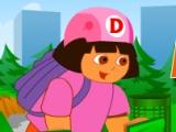 flash игра Dora ATV Challenge