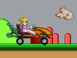 flash игра Peach Car Racing