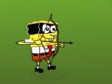 flash игра Spongebob Squarepants Shoot Zombie