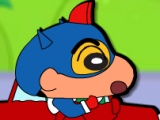flash игра Crayon ShinChan Time Parkour