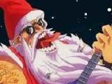 flash игра Santa Rockstar Metal Xmas 2