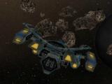 flash игра Asteroid Run 3D
