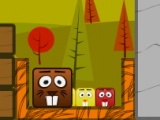flash игра Beaver Blocks Level Pack