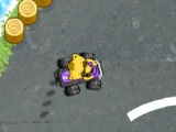 flash игра Raccoon Racing