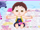 flash игра Cute Baby Care