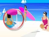 flash игра Beach Day Hidden Numbers