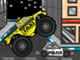 flash игра Monster Truck Taxi