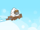 flash игра Chuck The sheep