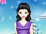 flash игра Cute Winter Girly Dressup