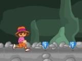 Flash игра для девочек Dora Diamond Cave