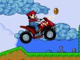 flash игра Mario ATV Skill